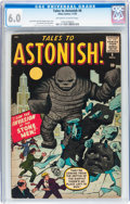 Silver Age (1956-1969):Science Fiction, Tales to Astonish #6 (Marvel, 1959) CGC FN 6.0 Off-white to whitepages....