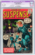 Silver Age (1956-1969):Science Fiction, Tales of Suspense #1 (Marvel, 1959) CGC Apparent VG/FN 5.0 Slight(B-1) Off-white to white pages....