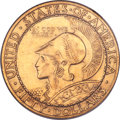 Commemorative Gold, 1915-S $50 Panama-Pacific 50 Dollar Round MS61 NGC....