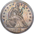 Seated Dollars, 1850 $1 MS61 NGC. CAC....