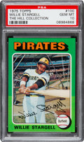 Baseball Cards:Singles (1970-Now), 1975 Topps Willie Stargell #100 PSA Gem Mint 10 - Pop One....