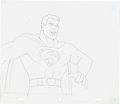 Animation Art:Production Drawing, Super Friends Superman and Wonder Woman Animation DrawingGroup (Hanna-Barbera, c. 1970s).... (Total: 5 Original Art)