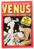 Golden Age (1938-1955):Romance, Venus #6 (Timely, 1949) Condition: GD+....