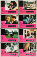 "Movie Posters:Crime, The Thomas Crown Affair (United Artists, 1968). Lobby Card Set of 8(11"" X 14""). Crime.. ... (Total: 8 Items)"