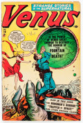 Golden Age (1938-1955):Horror, Venus #14 (Timely, 1951) Condition: GD....