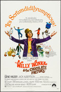"""Movie Posters:Fantasy, Willy Wonka & the Chocolate Factory (Paramount, 1971). One Sheet (27"""" X 41"""") & Pressbook (8 Pages, 12"""" X 15""""). Fantasy.. ... (Total: 2 Items)"""