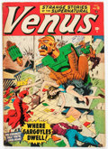 Golden Age (1938-1955):Horror, Venus #16 (Timely, 1951) Condition: VG+....