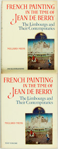 Books:Art & Architecture, [The Pierrepont Morgan Library]. Millard Meiss. French Painting in the Time of Jean de Berry. The Limbourgs and Th... (Total: 2 Items)