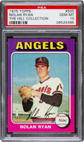 Baseball Cards:Singles (1970-Now), 1975 Topps Nolan Ryan #500 PSA Gem Mint 10 - Pop Two. ...