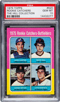Baseball Cards:Singles (1970-Now), 1975 Topps Rookie Catchers Gary Carter #620 PSA Gem Mint 10....