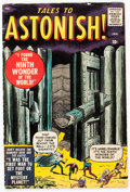 Silver Age (1956-1969):Horror, Tales to Astonish #1 (Marvel, 1959) Condition: VG+....