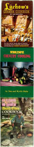 Books:Food & Wine, [Food]. Group of Three Cookbooks. Various publishers and dates....(Total: 3 Items)