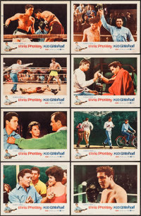 "Kid Galahad (United Artists, 1962). Lobby Card Set of 8 (11"" X 14""). Elvis Presley. ... (Total: 8 Items)"