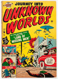 Golden Age (1938-1955):Horror, Journey Into Unknown Worlds #38 (#3) (Atlas, 1951) Condition:GD....