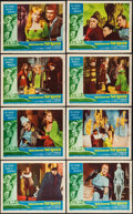 """Movie Posters:Horror, The Raven (American International, 1963). Lobby Card Set of 8 (11"""" X 14""""). Horror.. ... (Total: 8 Items)"""