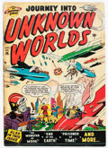 Golden Age (1938-1955):Science Fiction, Journey Into Unknown Worlds #36 (#1) (Atlas, 1950) Condition:FR....