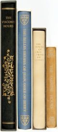 Books:Art & Architecture, [Art/Manuscripts/World History]. Group of Four Books. New York: George Braziller, [various dates].... (Total: 4 Items)
