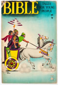 Golden Age (1938-1955):Religious, Bible Tales for Young People #4 (Atlas, 1954) Condition: VG/FN....
