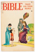 Golden Age (1938-1955):Religious, Bible Tales for Young People #5 (Atlas, 1954) Condition: VG-....