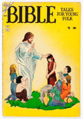 Golden Age (1938-1955):Religious, Bible Tales for Young Folk #2 (Atlas, 1953) Condition: GD....