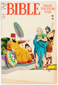 Golden Age (1938-1955):Religious, Bible Tales for Young People #3 (Atlas, 1953) Condition: VG/FN....