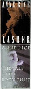 Books:Horror & Supernatural, Anne Rice. Pair of SIGNED Books. Includes: Lasher. New York: Alfred A. Knopf, 1993. A Literary Guild Main Se... (Total: 2 Items)