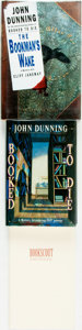 Books:Mystery & Detective Fiction, [John Dunning]. SIGNED. Group of Three Signed Books. Variouspublishers and dates. ... (Total: 3 Items)