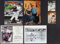 Baseball Collectibles:Others, Misc. Baseball Greats Signed Lot of 6....