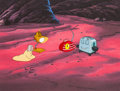 Animation Art:Production Cel, Brave Little Toaster Goes To Mars Production Cel (Hyperion,1998)....