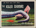 "Movie Posters:Science Fiction, The Killer Shrews (McLendon Radio Pictures, 1959). Half Sheet (22""X 28""). Science Fiction.. ..."
