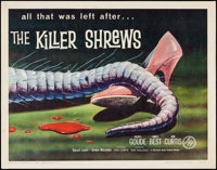 "The Killer Shrews (McLendon Radio Pictures, 1959). Half Sheet (22"" X 28""). Science Fiction"