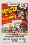 """Movie Posters:Horror, Monster on the Campus (Universal International, 1958). One Sheet (27"""" X 41""""). Horror.. ..."""