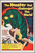 """Movie Posters:Science Fiction, The Monster that Challenged the World (United Artists, 1957). OneSheet (27"""" X 41""""). Science Fiction.. ..."""