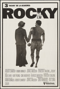 """Rocky (United Artists, 1977). Argentinean Poster (29"""" X 43.25""""). Academy Award Winners"""