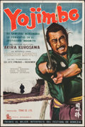 """Movie Posters:Foreign, Yojimbo (David Goldberg, S.A., 1961). Argentinean Poster (29"""" X 43""""). Foreign.. ..."""