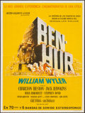 "Movie Posters:Academy Award Winners, Ben-Hur (MGM, 1959). Argentinean Poster (21.5"" X 29""). Academy Award Winners.. ..."