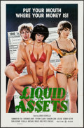 """Movie Posters:Adult, Liquid Assets & Other Lot (Sendy, 1982). One Sheets (88) (27"""" X 41"""") Flat Folded. Adult.. ... (Total: 88 Items)"""