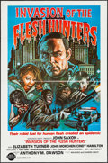 """Movie Posters:Horror, Invasion of the Flesh Hunters (Almi Pictures, 1982). One Sheets (5) (27"""" X 41"""") Flat Folded. Horror.. ... (Total: 5 Items)"""