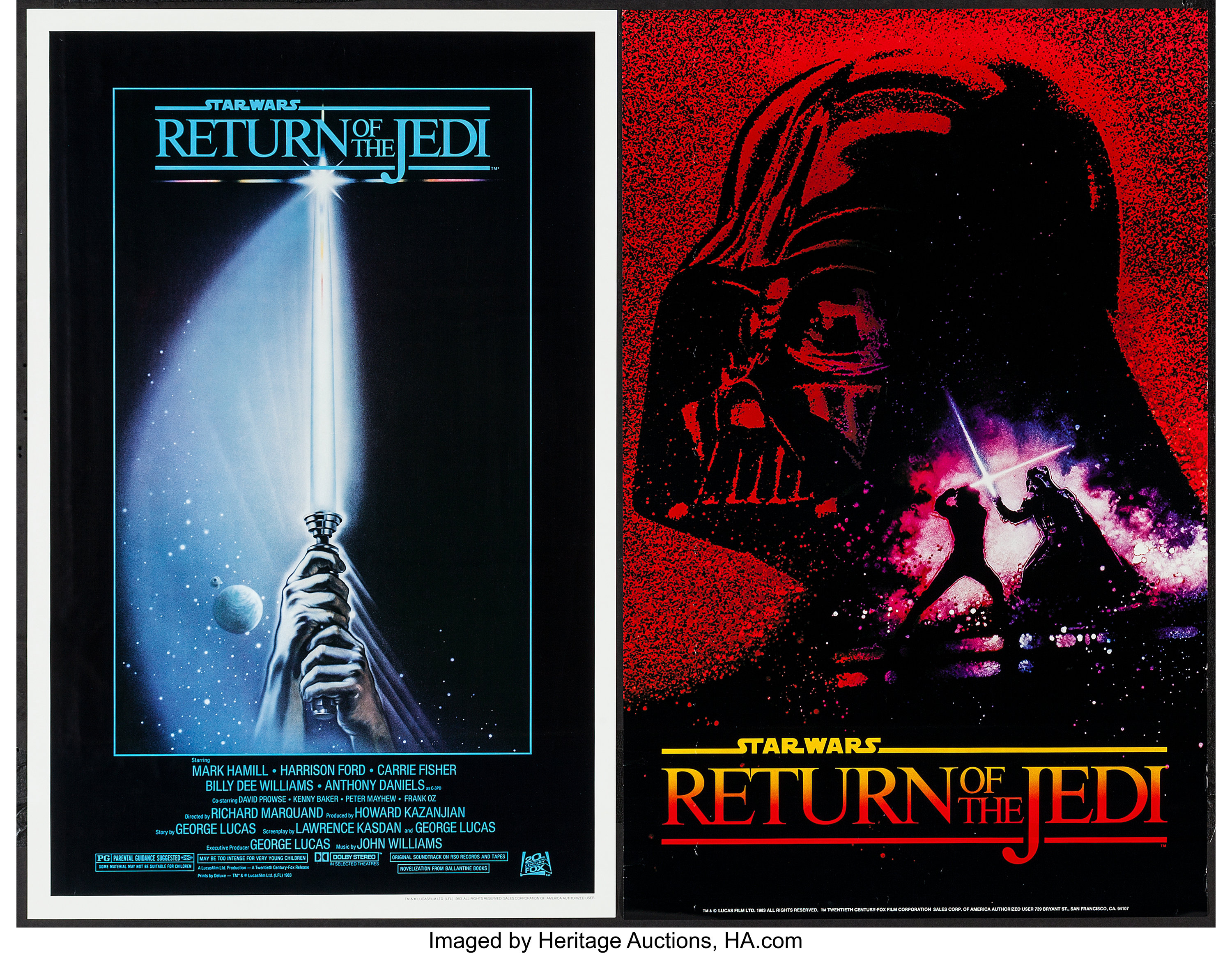 Return of the Jedi & Others Lot (20th Century Fox, 1983