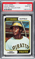 Baseball Cards:Singles (1970-Now), 1974 Topps Dave Parker #252 PSA Gem Mint 10....