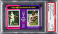 Baseball Cards:Singles (1970-Now), 1975 Topps Mini 1957-MVP's Mantle/Aaron #195 PSA Gem Mint 10 - PopTwo....