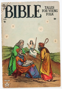 Bible Tales for Young Folk #1 (Atlas, 1953) Condition: GD