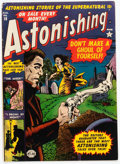 Golden Age (1938-1955):Horror, Astonishing #16 (Atlas, 1952) Condition: VG+....