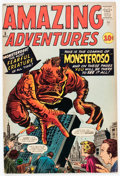 Silver Age (1956-1969):Horror, Amazing Adventures #5 (Marvel, 1961) Condition: FN....