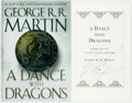 Books:Science Fiction & Fantasy, [Featured Lot]. George R. R. Martin. SIGNED. A Dance with Dragons. New York: Bantam Books, [2011]. First Edition...