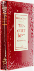Books:Literature 1900-up, William Styron. This Quiet Dust and Other Writings. NewYork: Random House, [1982]....