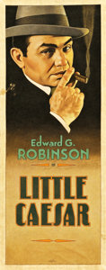 "Movie Posters:Crime, Little Caesar by Arthur K. Miller (2013). Original Artwork ClothBanner (24.5"" X 63"").. ..."