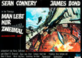 """Movie Posters:James Bond, You Only Live Twice (United Artists, 1967). German A0 (33"""" X 47.25"""").. ..."""