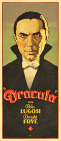 "Movie Posters:Horror, Dracula by Arthur K. Miller (2014). Original Artwork Cloth Banner(23.5"" X 54"").. ..."