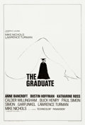 "Movie Posters:Comedy, The Graduate (Embassy, 1968). One Sheet (27.75"" X 41"") Style B....."